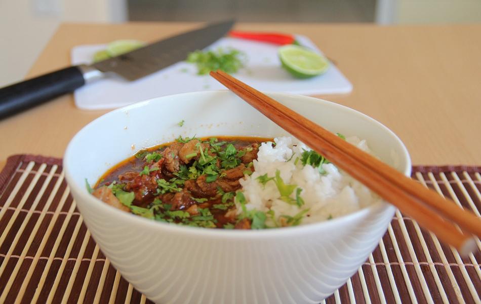 thai opskrifter med oksekød