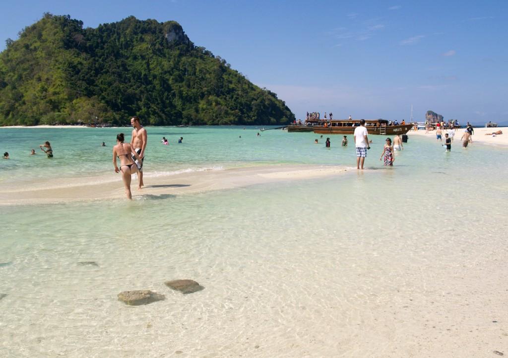 Paradis ved Tub- og Chicken Island ved Krabi