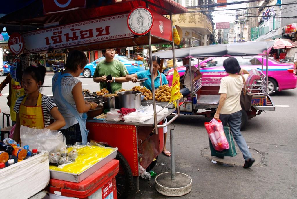 Gadekøkkener i Chinatown