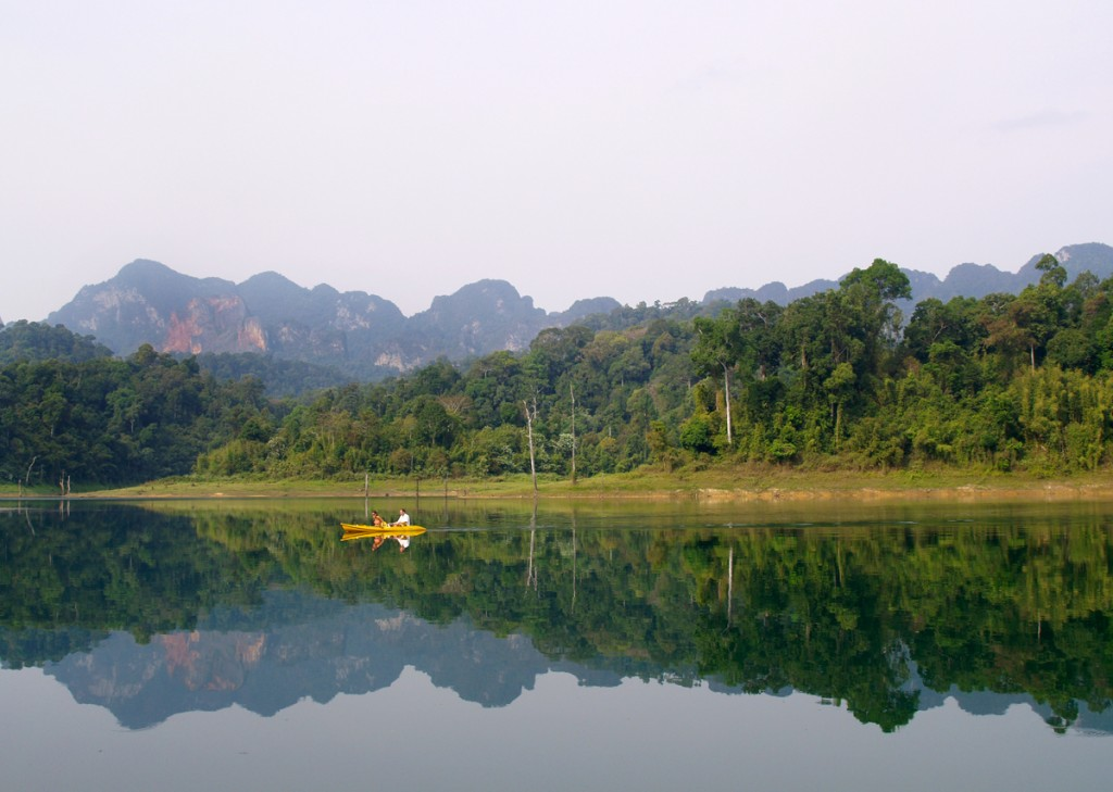 Morgen i Khao Sok Nationalpark