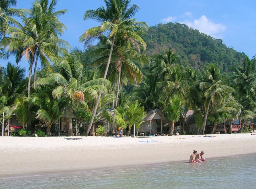 Der er stadig små hytter på Koh Changs strande