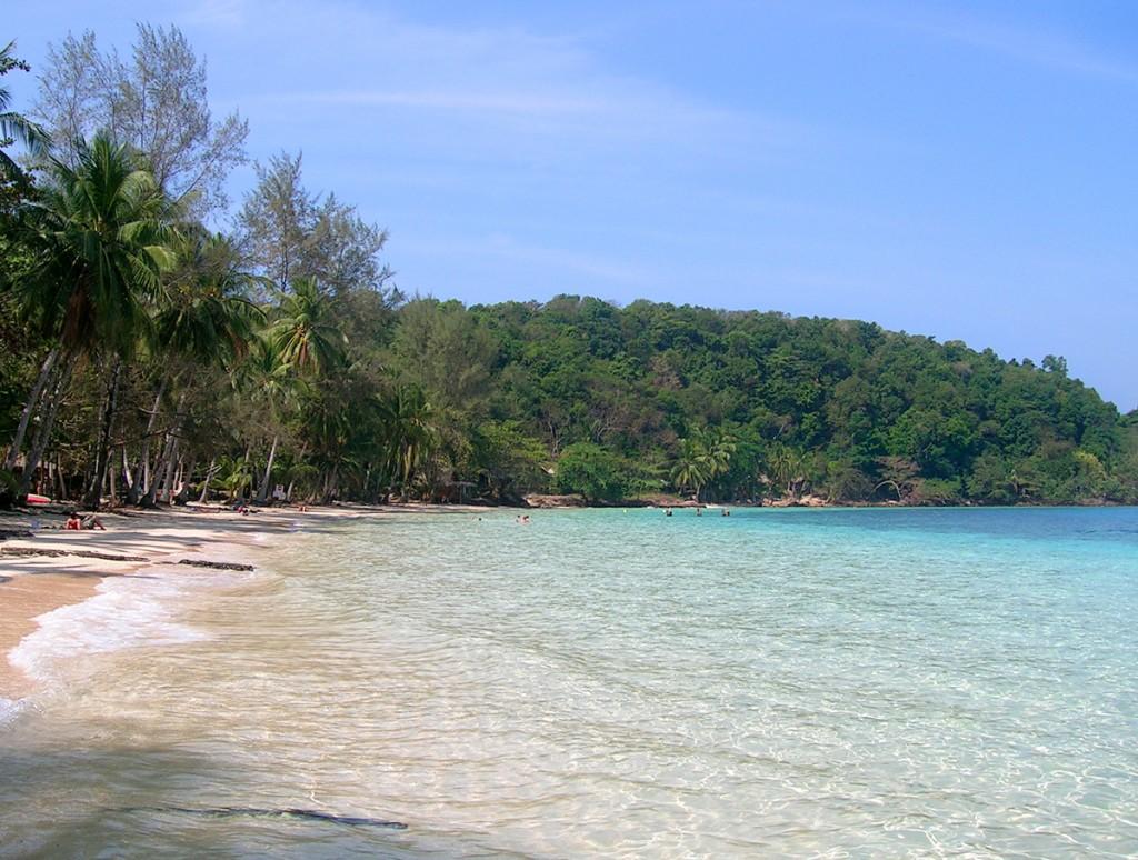 Koh Wai er en af øerne i den maritime nationalpark
