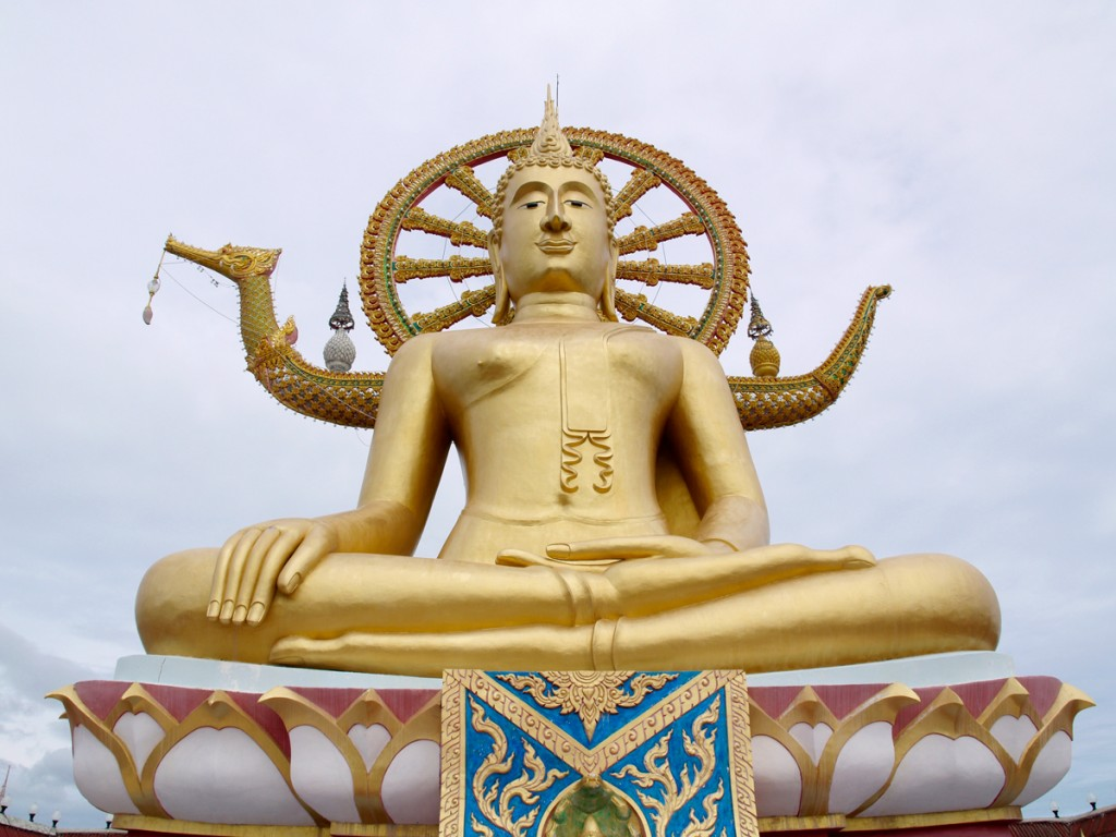 Den store Buddha er Koh Samuis vartegn