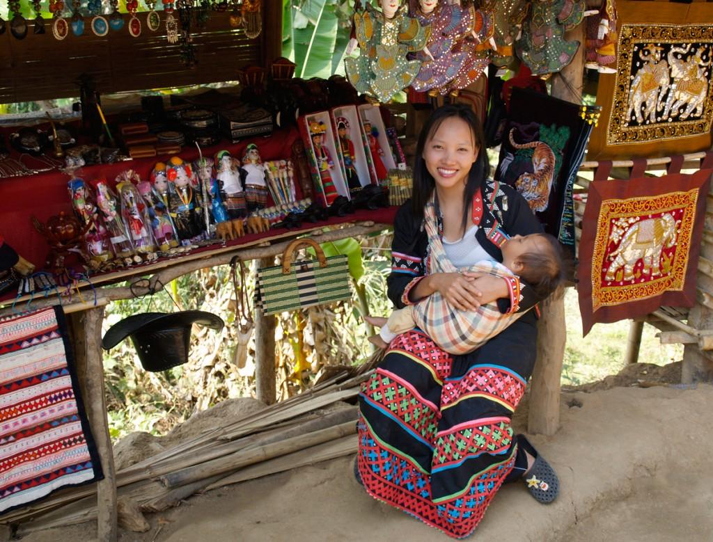 Nordthailand er hjem for en række spændende bjergstammer