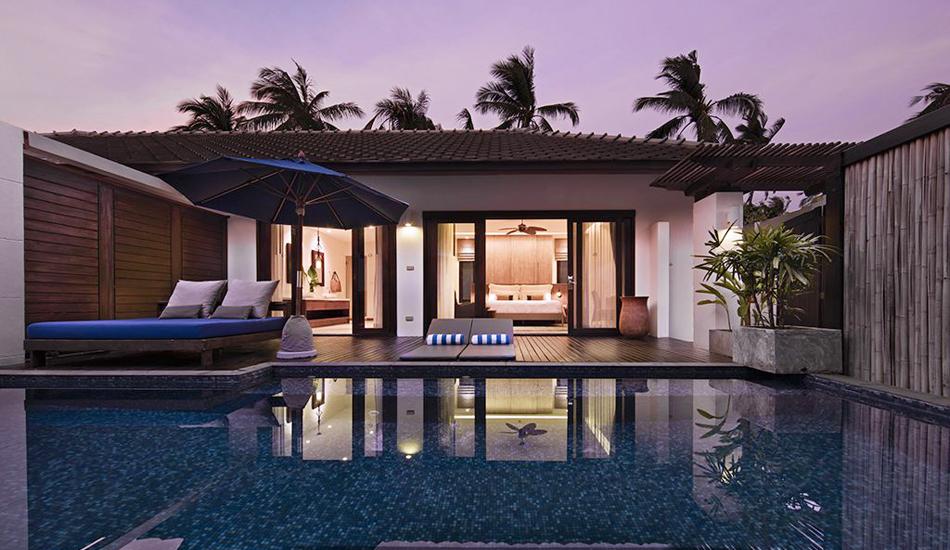Fantastisk tilbud l kre outrigger p koh samui til uh rt for Garden pool villa outrigger koh samui