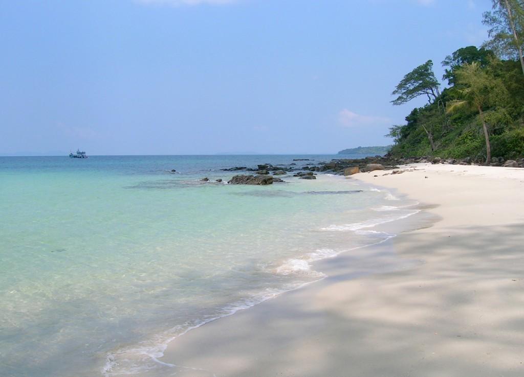 Det er stadig muligt at finde øde hvide sandstrande i Thailand som her på Koh Kood