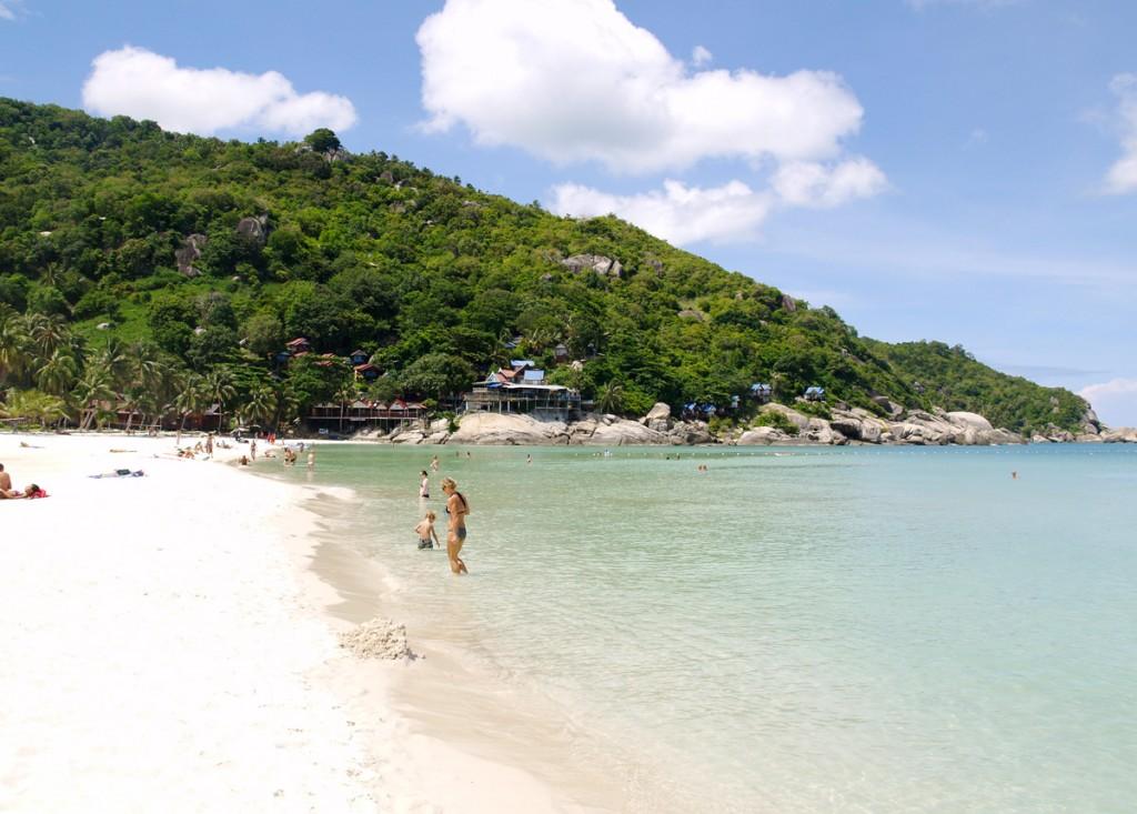 Hat Rin Beach på Koh Phangan er rigtig lækker