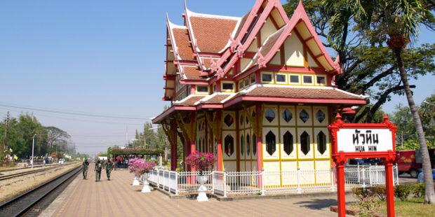 fra bangkok til hua hin